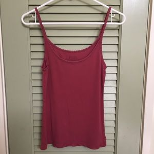 American Eagle Outfitters Pink Tank Top Medium